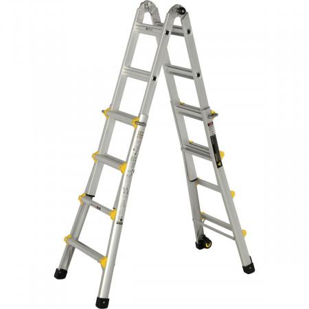 Verwendung als 2x6 Sprossen Stehleiter