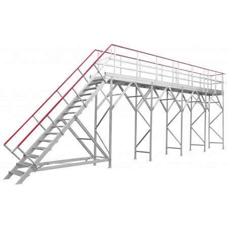 ARCTICA 7 Meter Enteisungsbühne mit 2 Meter Erweiterung