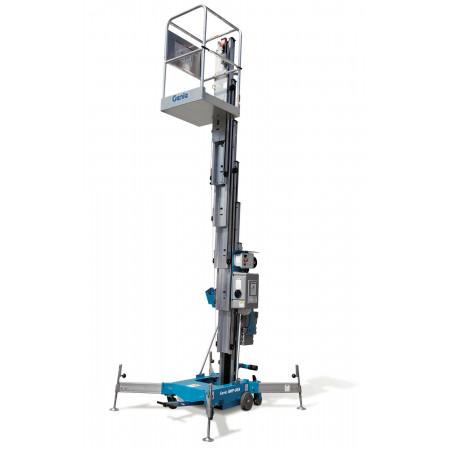 Ausfahrbar bis auf eine Plattformhöhe von 9 Meter