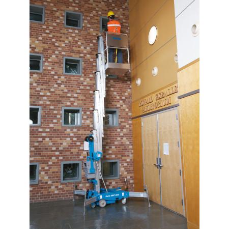 ... ist der AWP ideal für den Einsatz in Turn- und Mehrzweckhallen