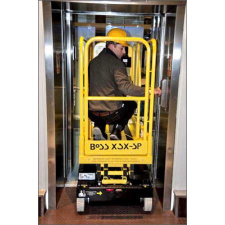 Mit 76 cm Breite kein Problem für den Lift