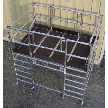 Belastung pro Plattform: 220 kg | max. Gesamtbelastung: 500 kg