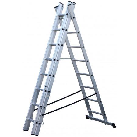 Verwendung als beidseitig begehbare Stehleiter