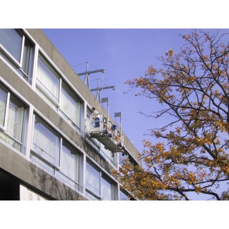 Renovierungsarbeiten an Aussenfassade