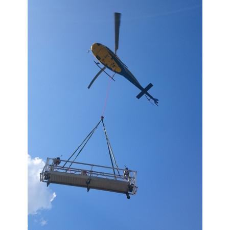 4 Meter MHG beim Flug zum Einsatzort