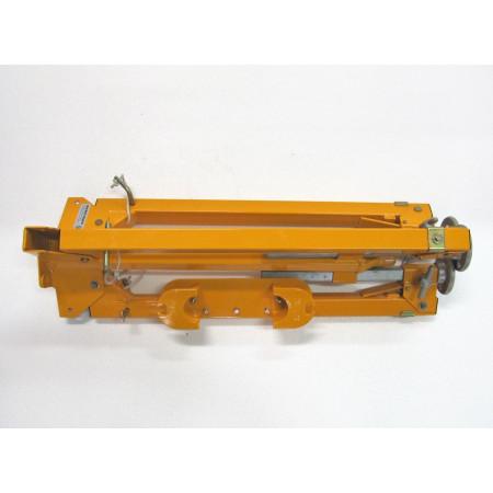 Dreibeinstativ kann zusammengelegt leicht im PW transportiert werden.
