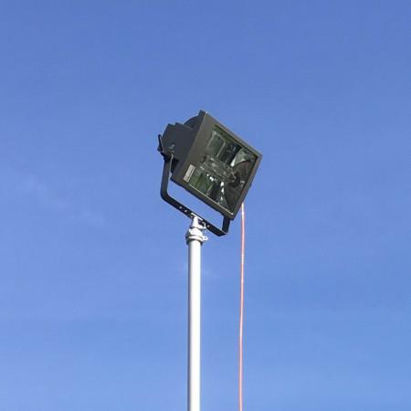 Halogen-Metalldampf Scheinwerfer mit 1'000 Watt und 90'000 Lumen