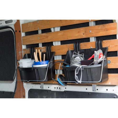Die Tool Tray Behälter sind auch im Transporter einsetzbar