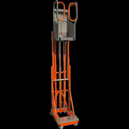 Maximale Plattformhöhe (Standhöhe): 3 Meter