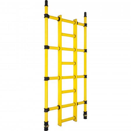 Seitenrahmen mit integrierter Leiter (Leiterrahmen)