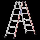 HYMER Stehleiter in der Grösse 2 x 6 Stufen