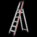 HYMER Stehleiter mit 5 Stufen (inkl. Plattform)