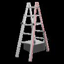 Hymer Treppenstehleiter in der Grösse 2x5 Sprossen