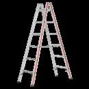 6023 Sprossenstehleiter mit 2x6 Sprossen