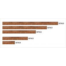 Alle Bordbretter aus Holz, 15 cm hoch und 2.5 cm dick