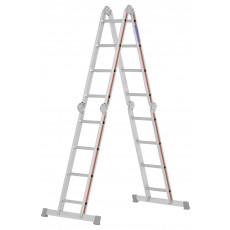 Grösse 4x4 in Verwendung als Stehleiter
