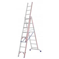 Variante 3x8 als Stehleiter mit einer Reichhöhe von 4.65 m