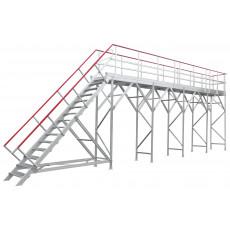 ARCTICA 7 Meter Enteisungsbühne mit einer 2 Meter Erweiterung
