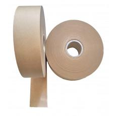 Rolle mit braunem Papierband 49 mm breit