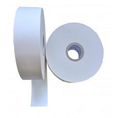 Rolle mit weissem Papierband 49 mm breit