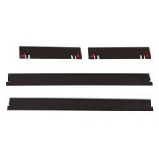 Paketinhalt: Im Fussleisten-Set enthaltene Einzelteile