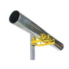 Die Rohraufnahme verhindert zuverlässig das Wegrollen des Produkts