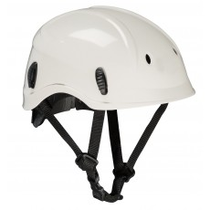 Weisser Helm für den Gerüstbau