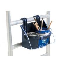 Praktischer Behälter für Farbdosen und Malerwerkzeuge