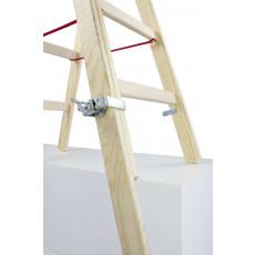 Fussverlängerung für Holz-Stehleitern