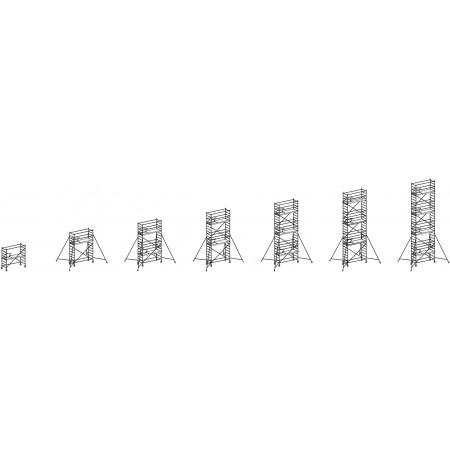 Alle Ausbauvarianten bis zu einer Reichhöhe von 9.25 m