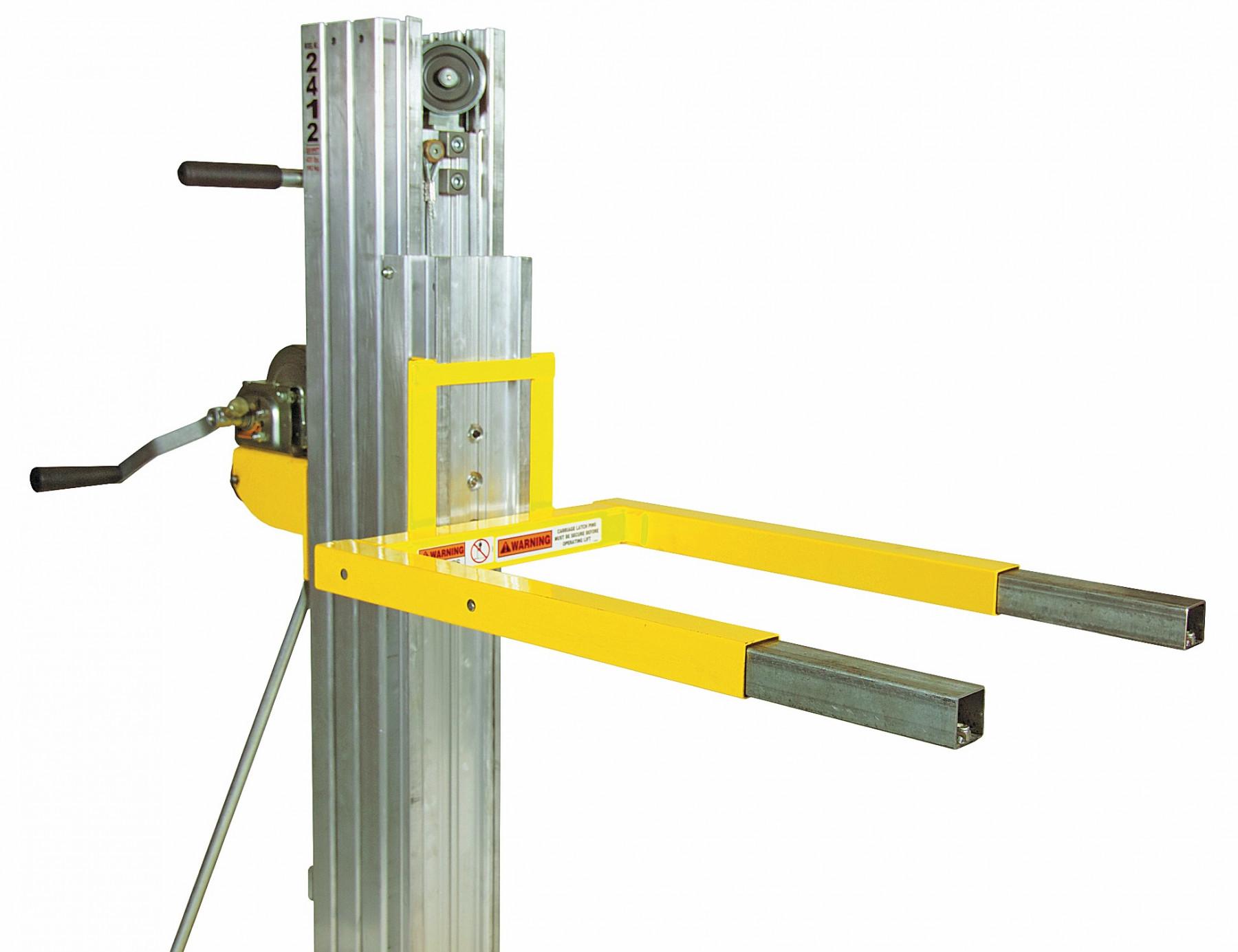 Indupro Rental Contractor Lift 2412 Hiring