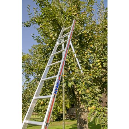 Die Hymer Obstbaumleitern erfüllen die Norm DIN 68363
