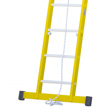 Die Breite der Traverse variiert je nach Grösse der Leiter