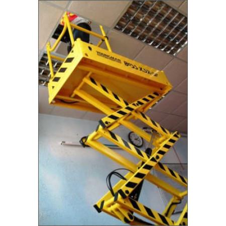 Option: Halbes Geländer für den Einsatz in Kassettendecken