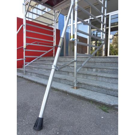 Option: Spezialrahmen mit hohem Durchlass für Treppen