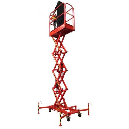 Plattformhöhe: 4 m   /   Reichhöhe: 6 m