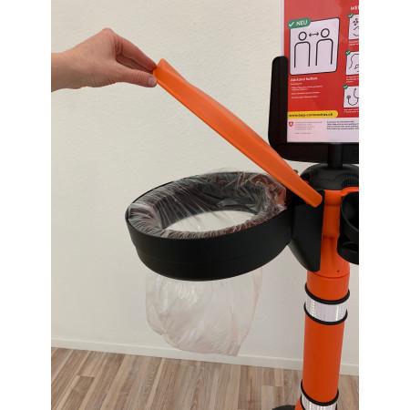 Variante mit zusätzlicher Halterung für Abfallsäcke