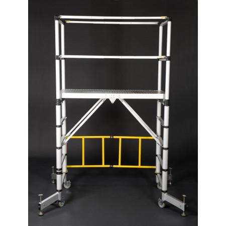 5. Stufe: Plattformhöhe auf 1.50 m