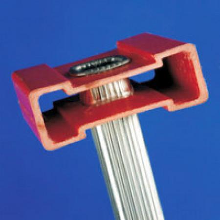 Holme aus glasfaserverstärktem Kunststoff (GFK)