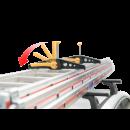 Schnelle und sichere Befestigung von Leitern auf dem Dachträger