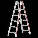 HYMER Sprossenstehleiter mit 2 x 6 Sprossen