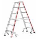 Stufenstehleiter mit 6 Stufen