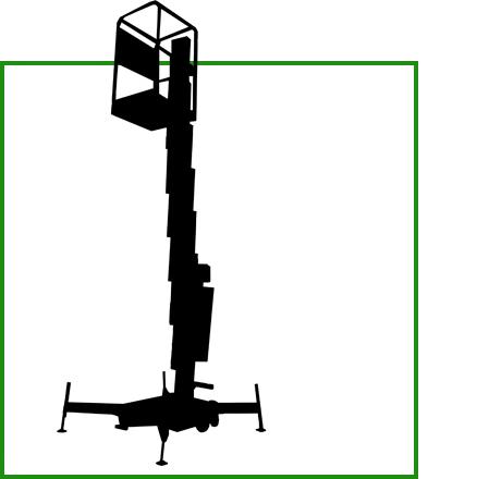 Symbol für 1a Statisch Vertikal